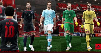 PES 2013 Celta Vigo 2015-16 Kits By Abdallah El Ghamry