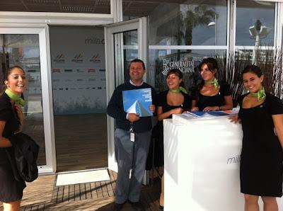 Volvo+Azafatas Impressions Village Volvo Ocean Race Alicante 2011