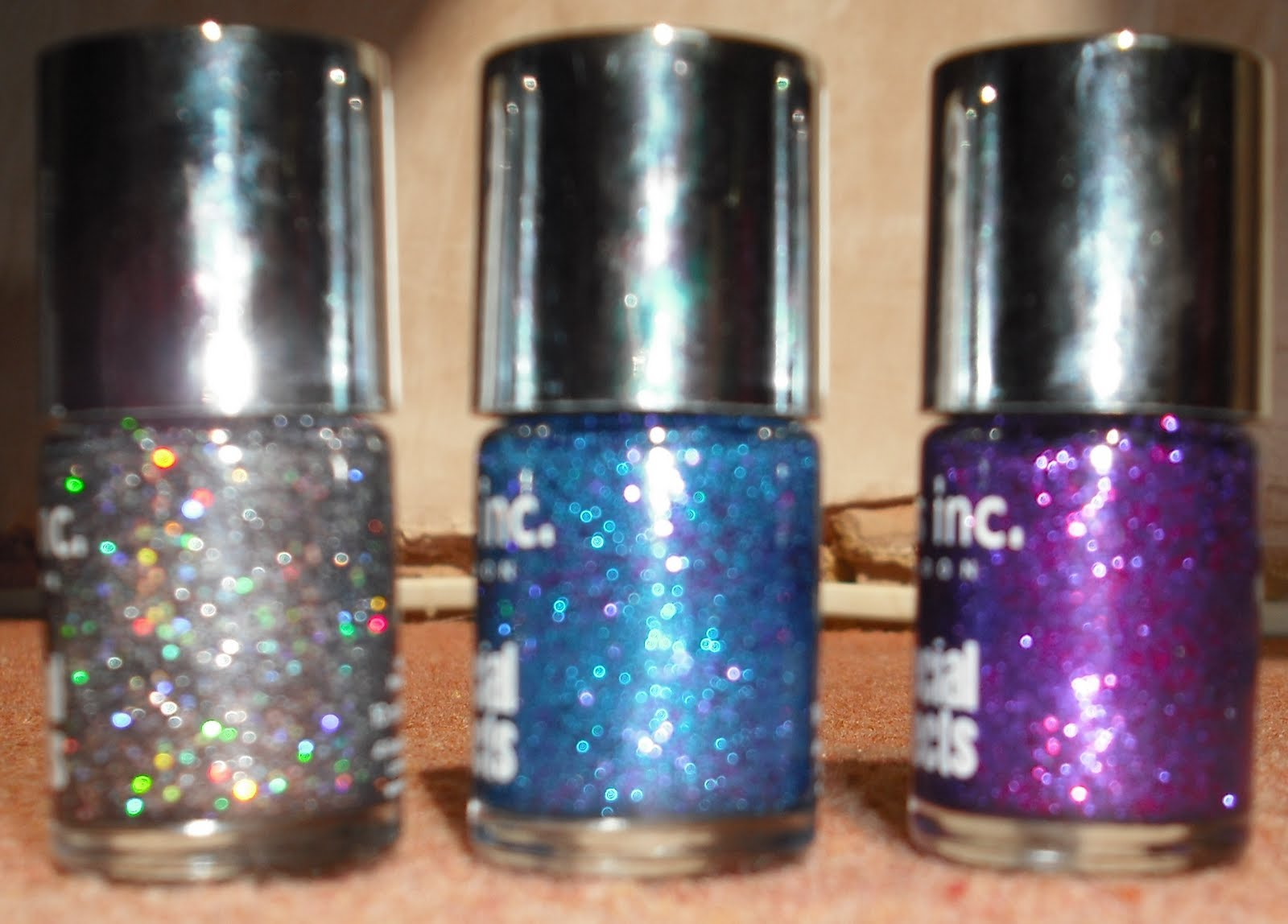 Nails Inc Glitter Nail Polish#%