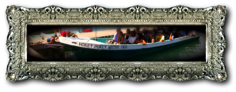Hokey Pokey Water Taxi - McKinley Pritchard in Placencia Belize
