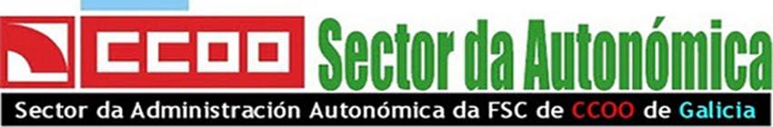 Sector da Autonómica da FSC de CCOO de Galicia