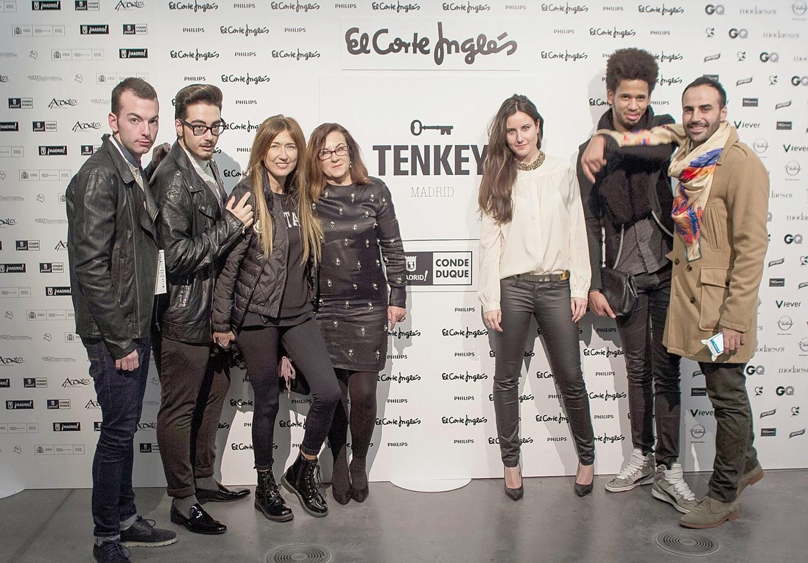 Desfile Tenkey, blog de moda, photocall, bloggers