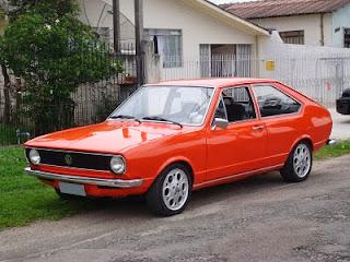 Primeiro modelo do Passat, em 1974 (Volkswagen)