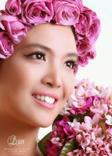 style trang điểm cô dâu phong cách tự nhiên