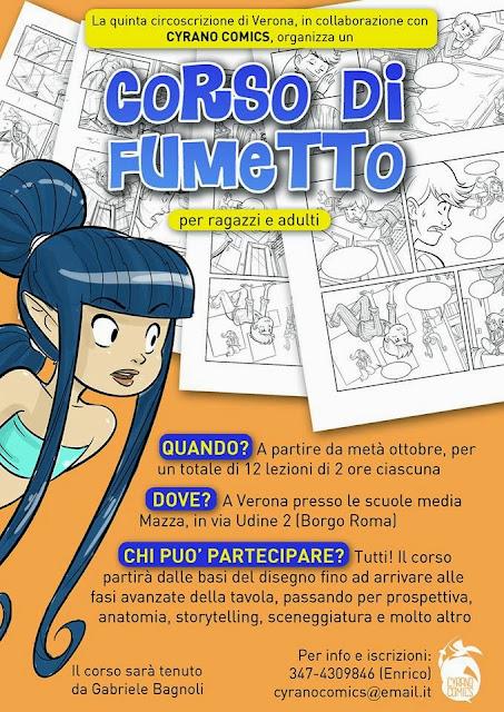 Corso di Fumetto a Verona - Cyrano Comics