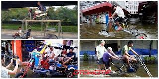 Foto Mobil-Motor Anti-banjir ala Thailand