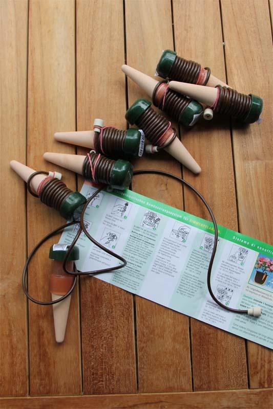 Tonkegel Bewässerung mein balkon bewässerungssysteme im test gießroboter teil 4