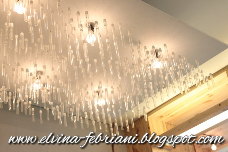 Its A Journey After All Food And Travel Blog Based In Jakarta - Ceiling lamp made by chemistry test tubes