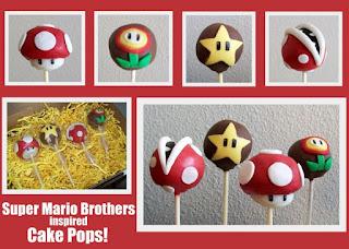Cakepops de Mario Bros