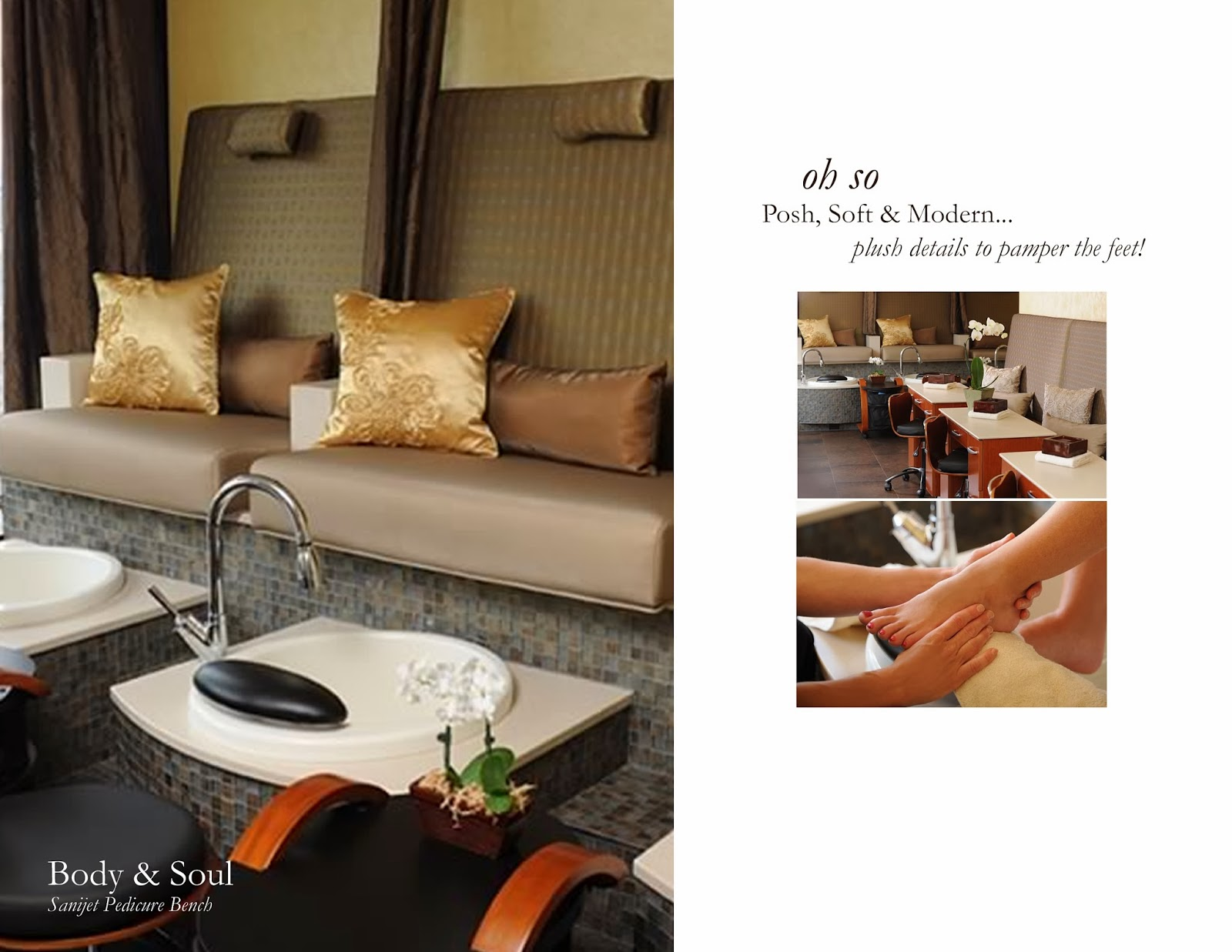 Michele pelafas december 2013 for Nail salon benches