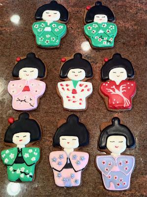 Kokeshi Doll Cookies