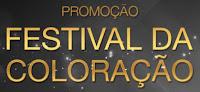 Promoção Festival da Coloração www.festivaldacoloracao.com.br