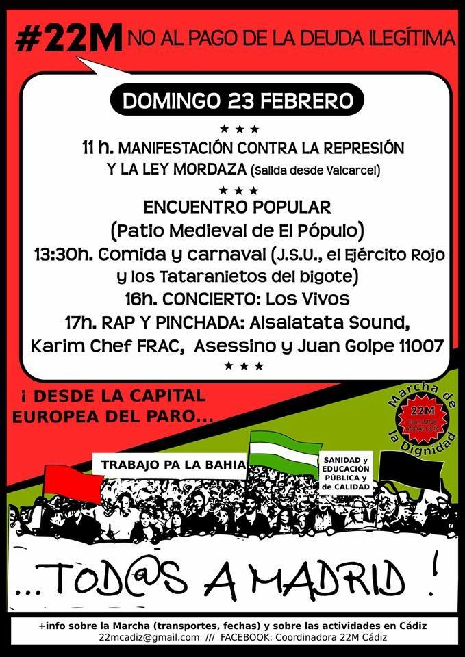 El 22 de marzo TODAS A MADRID