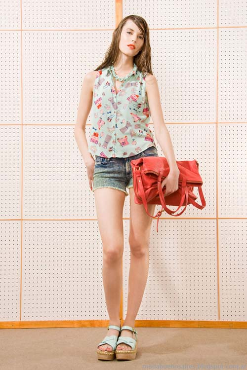 Camisas sin mangas verano 204 moda mujer Las Pepas.