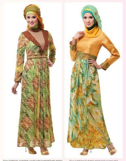 Model gamis sifon remaja terbaru untuk lebaran Baju gamis model india 2015