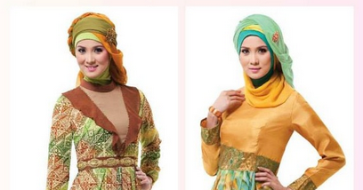 Gambar Trend Fashion Modern Baju Muslim Gamis Model