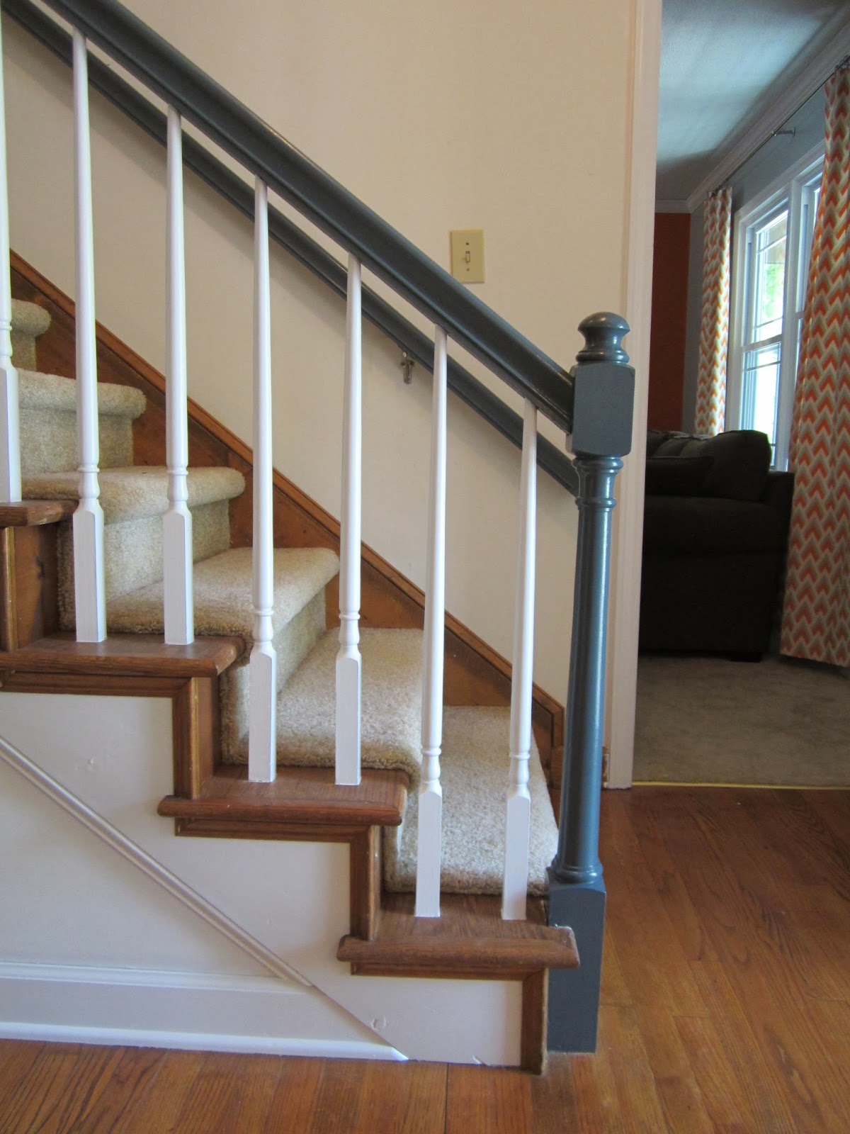 The Amberican Dream Banister Beautification