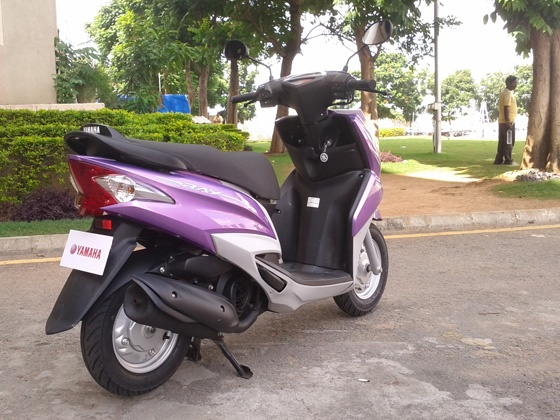 Yamaha Ray Scooter , Yamaha ray scooter colors , Yamaha ray scooter launch date , yamaha ray scooter mileage , yamaha ray scooter review , yamaha ray scooter specifications , yamaha ray scooter price,  yamaha moped scooters Yamaha Ray 110 Scooter Overview , Yamaha Ray 110cc Specs , Yamaha Ray 110cc Price ,Yamaha Motor company Launched  the Yamaha Ray 110cc Scooter
