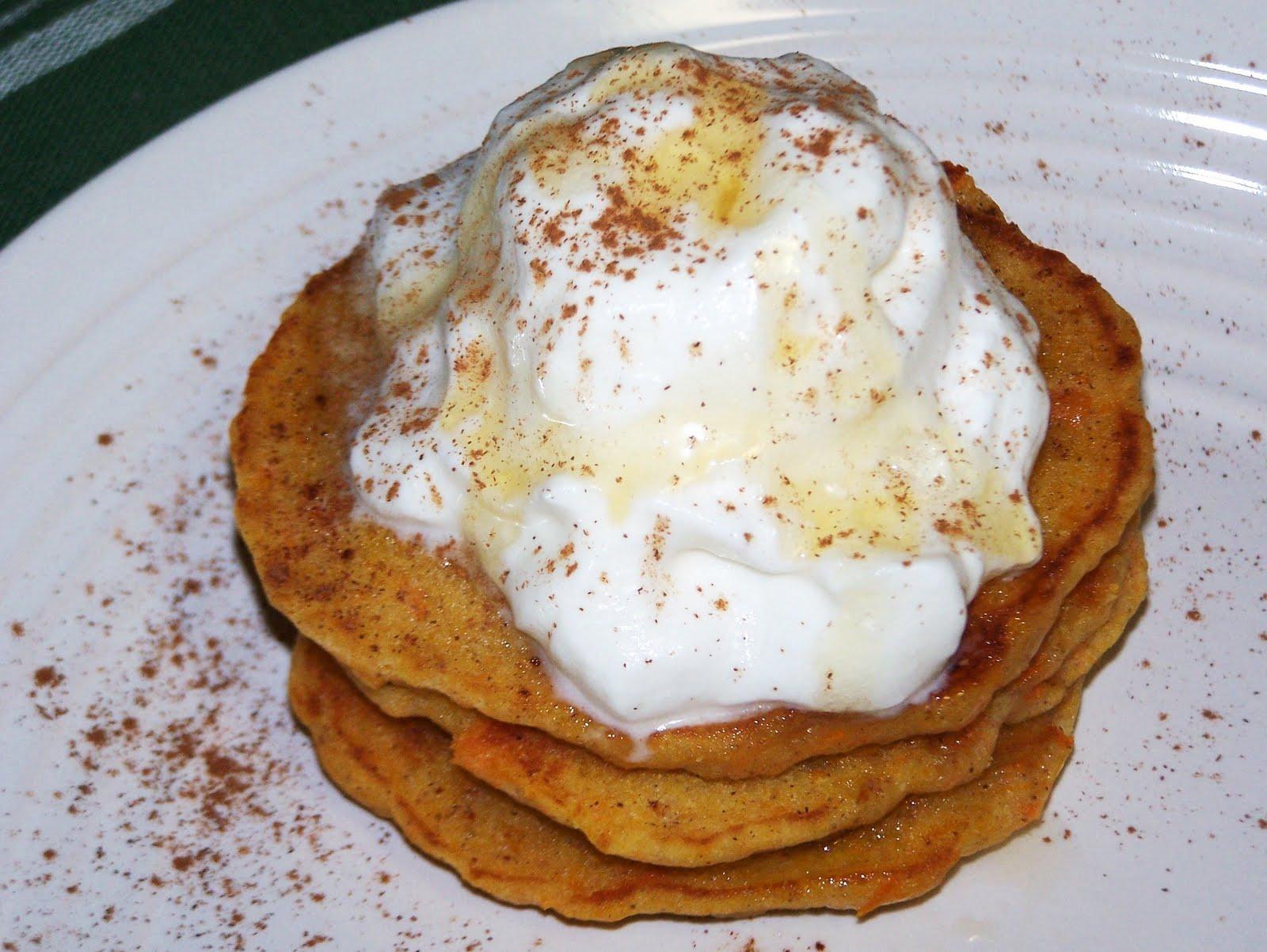 EZ Gluten Free: Sweet Potato Pancakes