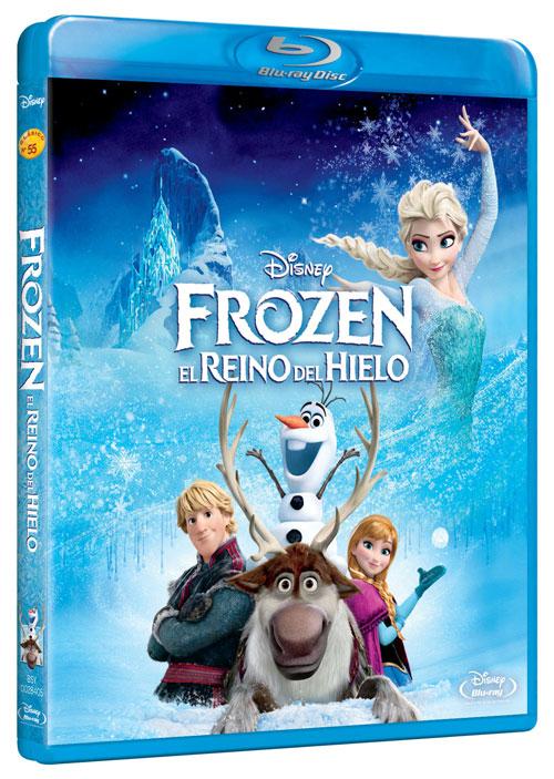Frozen. El Reino de Hielo - Ediciones Blu-Ray y DVD