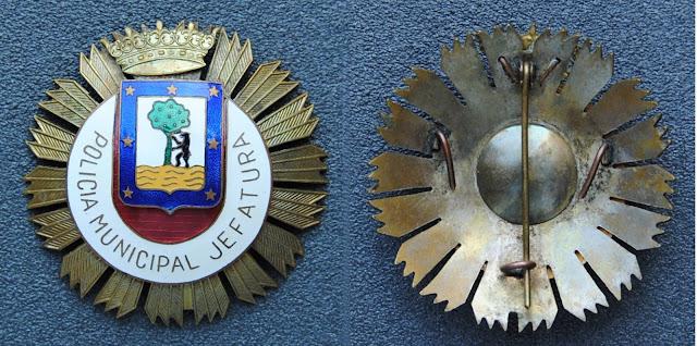 POLICÍA MUNICIPAL MADRID  PLACA+POLICIA+MUNICIPAL+MADRID+JEFATURA