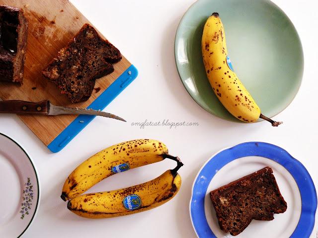 bounty bar banana bread chlebek bananowy ciasto bananowe