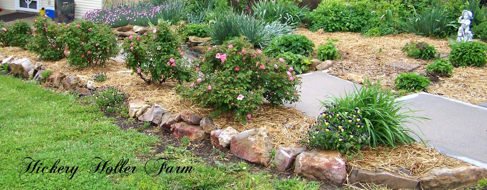 Mulch Flower Bed : Flower Beds with Mulch