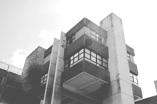urban photography, brutalist, architecture, black and white, photo,