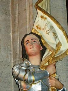 MOVIMENTO SOB A INTERCESSÃO DA PADROEIRA DA FRANÇA  E AMIGA DA REALEZA DE CRISTO SANTA JOANA D´ARC