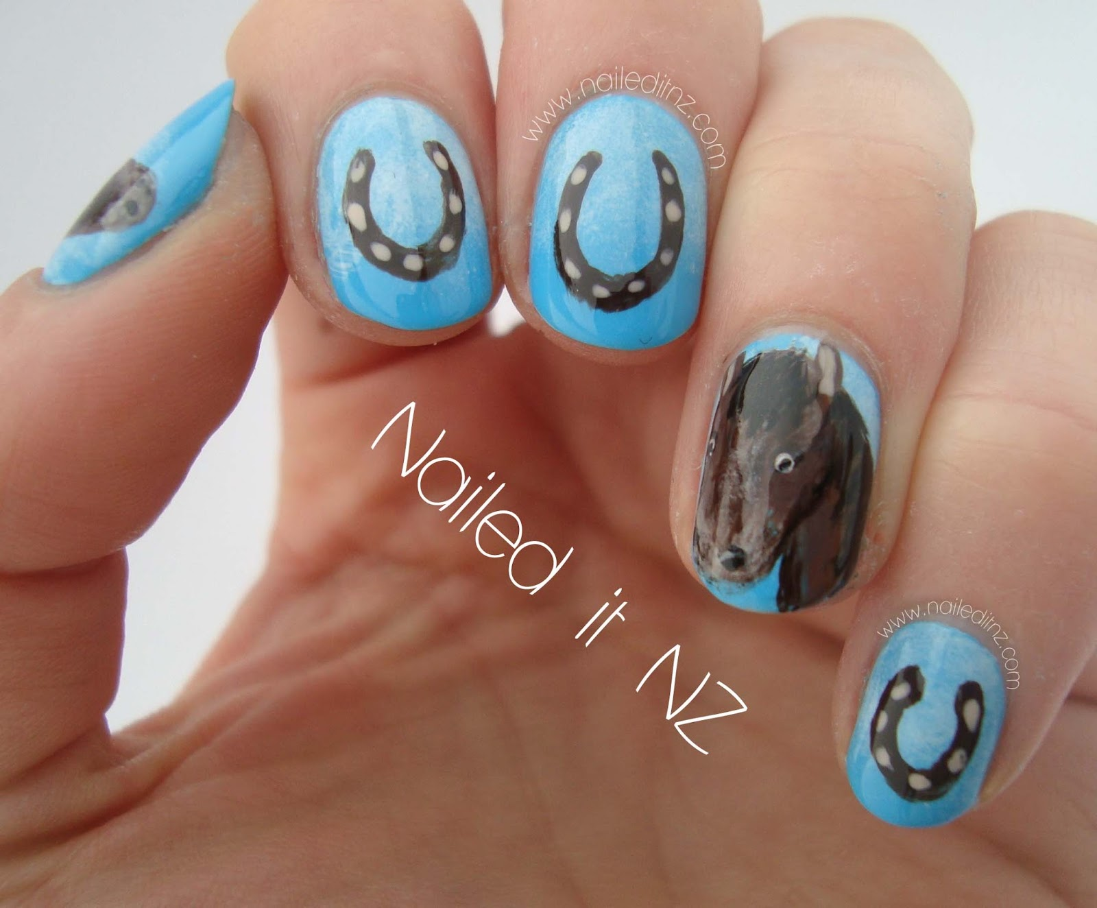 Horse Nail Art Horse nails + plus two