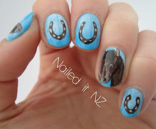 horse nails two tutorials
