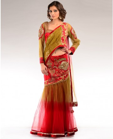 Embroidered Saris 2013 For Women