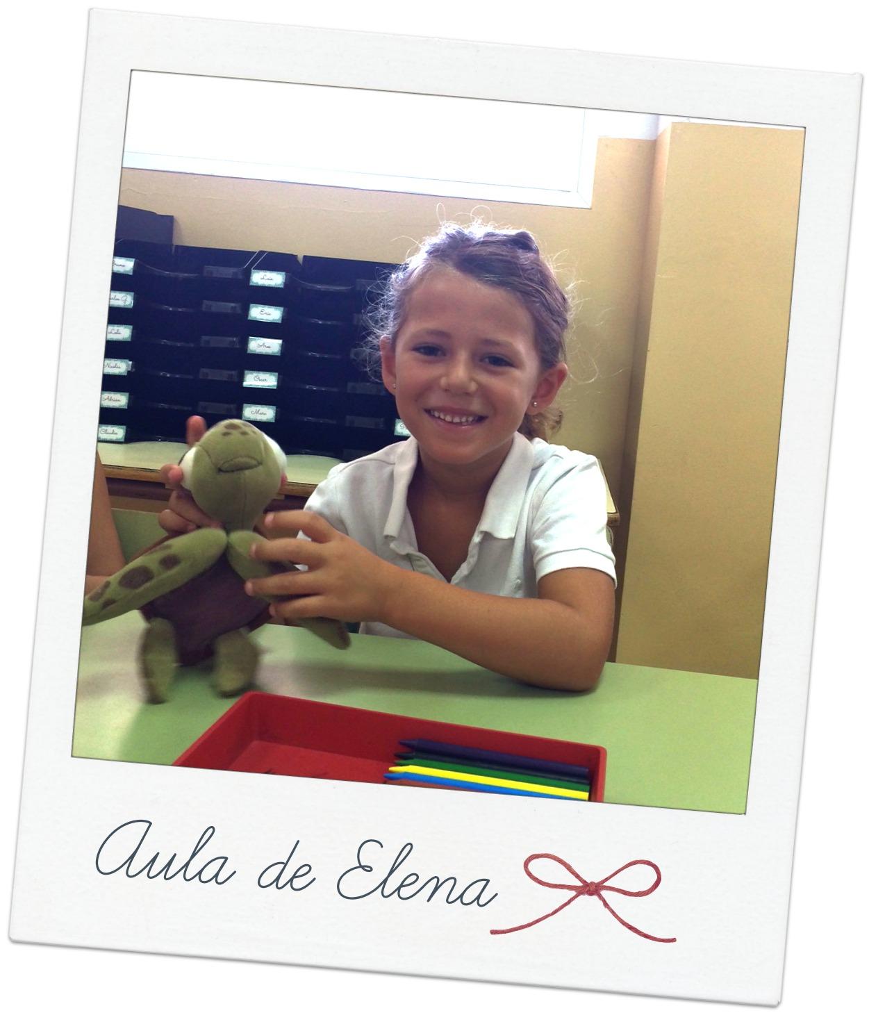 Primer día de clase del curso 2014-15 - Aula de Elena