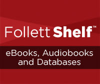 CMS Library's Follett Shelf