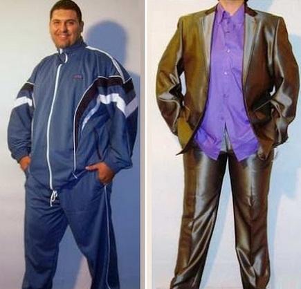 b332e884fa4 Moda casual de hombre y Mujer de Grandes tallas