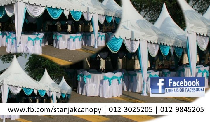 Stanjak Canopy -- Sewa Khemah di Lembah Kelang, Kuala Lumpur dan Selangor