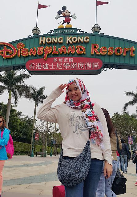 HK Disneyland, Hong Kong (2016)