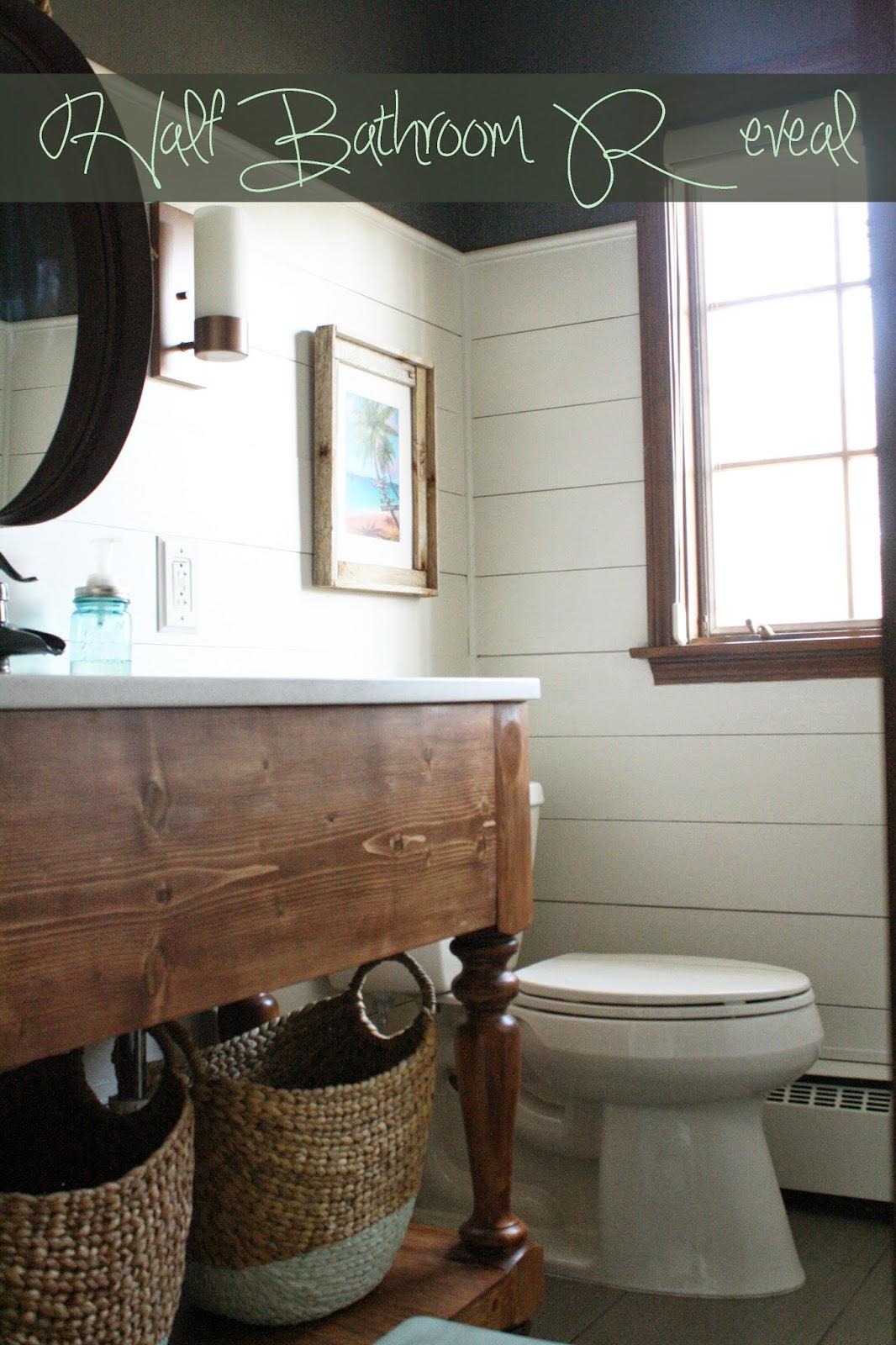 Im Always Nesting HalfBathroom Reveal - Kendall bathroom vanities