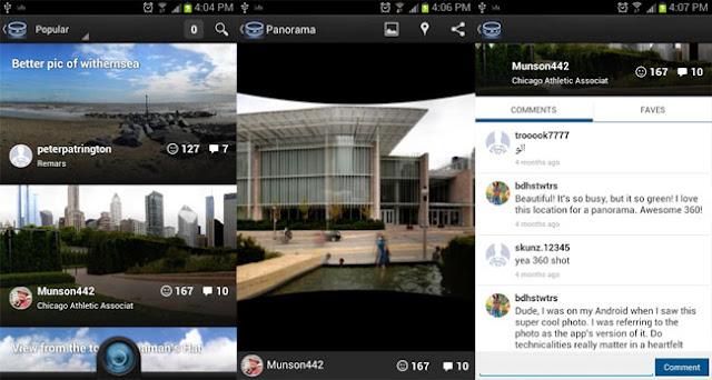 360, la nueva red social para Android