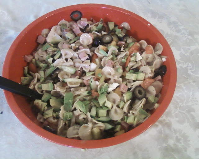 cold pasta salad, recipes for pasta salad