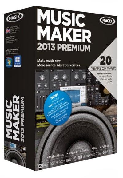 Magix musique maker 2013 premium banque de son extreme dll