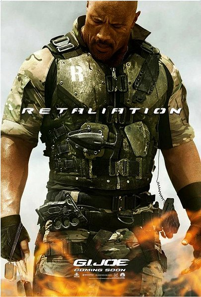 G.I. Joe retaliation poster Dwayne Johnson