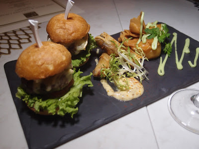Wagyu & Camembert Sliders