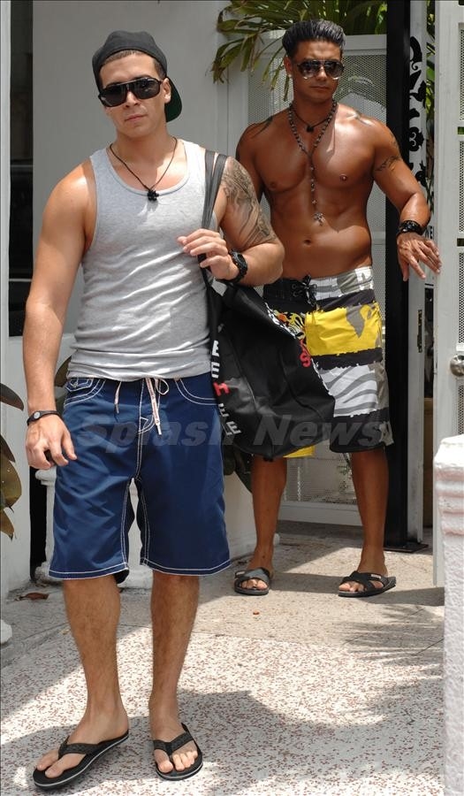 jersey shore guys steroids