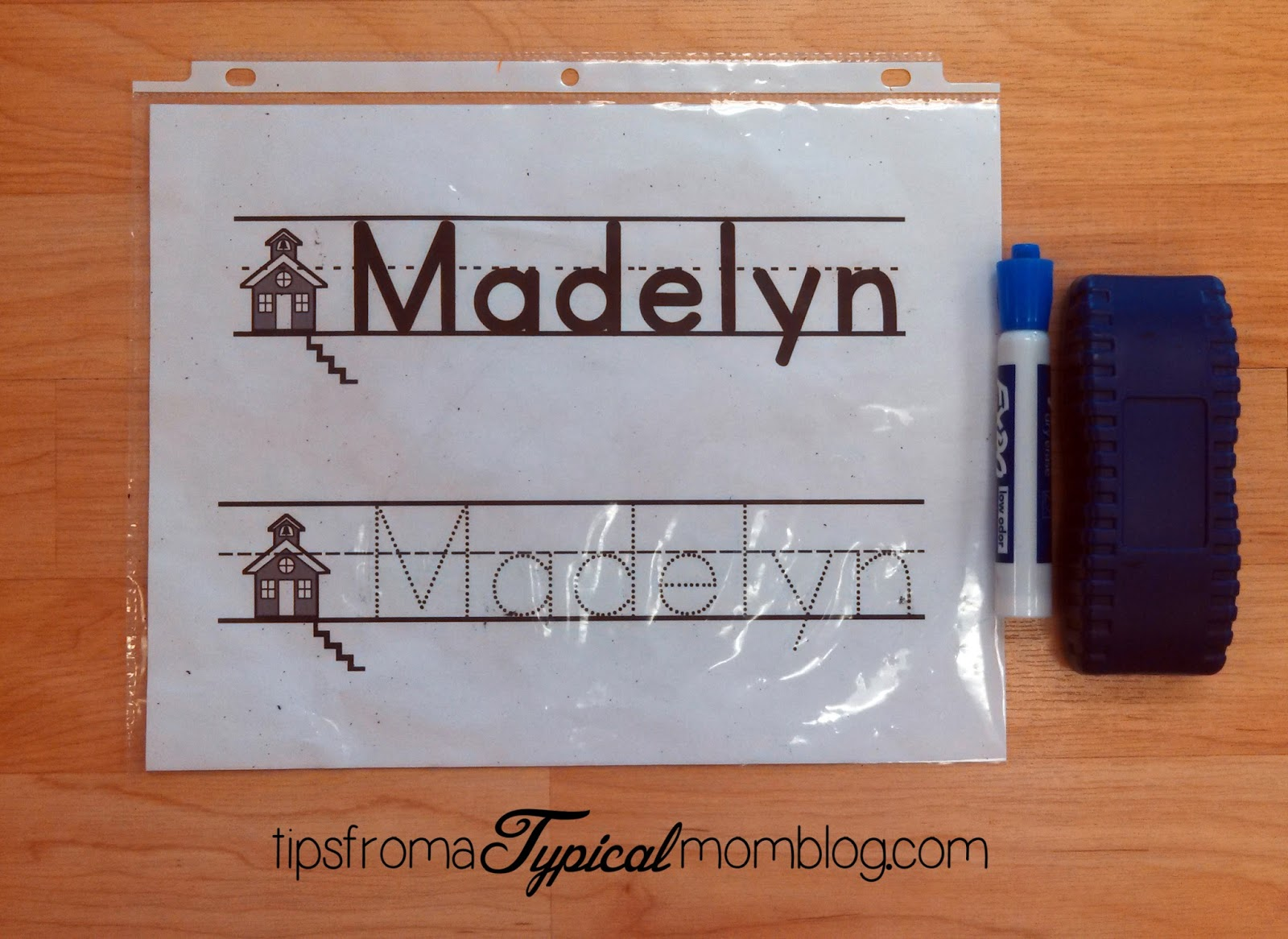 Name and Handwriting Practice Ideas for Preschoolers - Tips from a ...