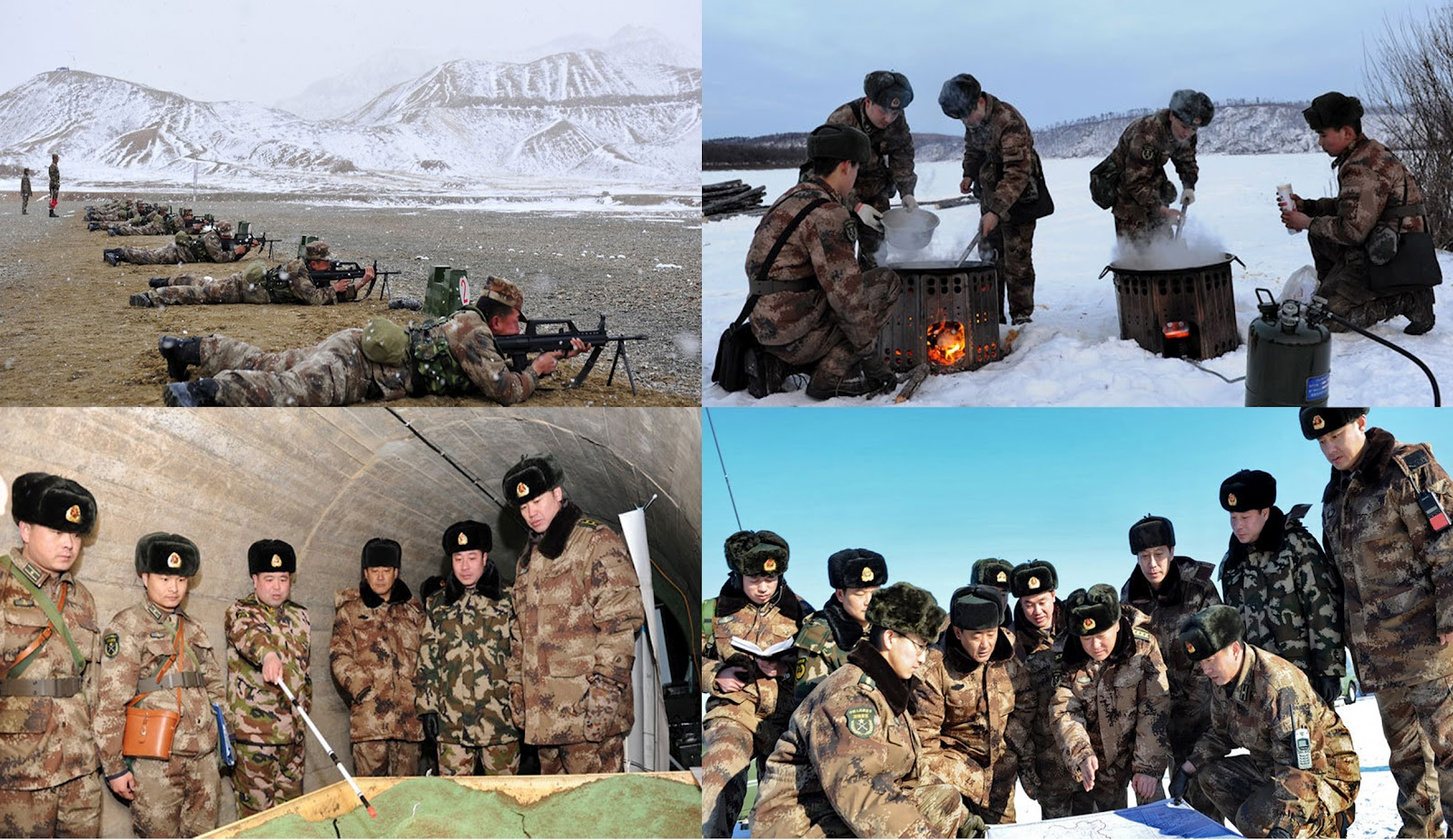 TRISHUL Snapshots Of Combined PLA ArmyAir Force Exercises Now - Pla relay working principle