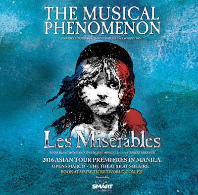 Les Misérables, Les Miserables Manila, Les Miserables ticket prices, Les Miserables schedule, Les Miserables cast, Les Miserables song