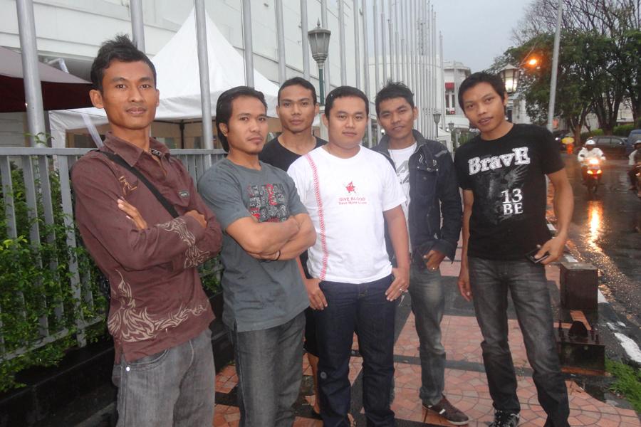 Tahun Baru, Bandung, Masjid Agung Bandung, Jl Asia Afrika