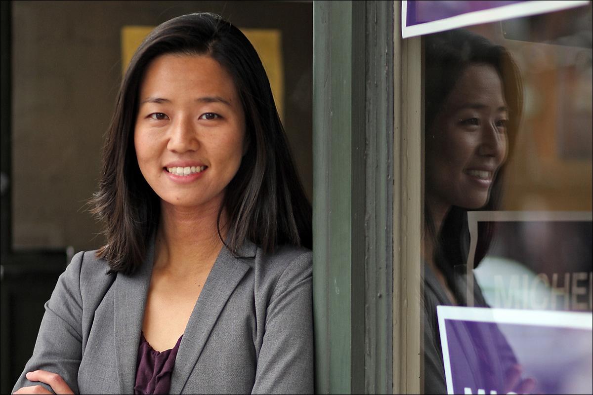 Asian boston female