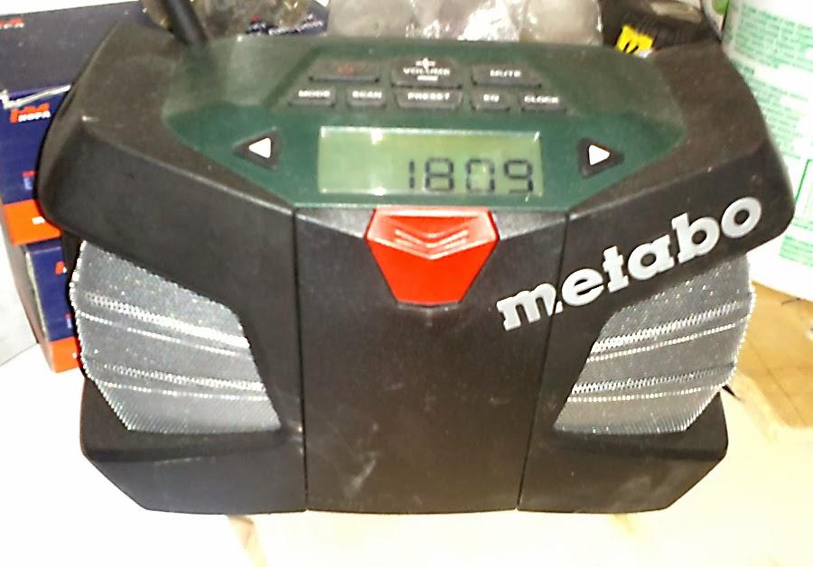 Строительное радио Metabo